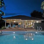 Night Pool Cottage